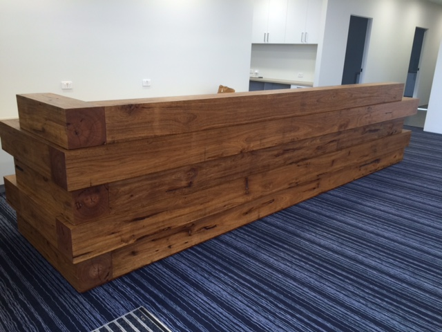 Professional Office Cairns | Recycled Blackbutt | French Oak
